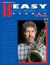 B. MINTZER - 15 EASY JAZZ-BLUES-FUNK ETUDES Bb TROBENTA IN KLARINET