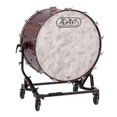 "ADAMS 2BDV2822 Concert Bass Drum 28"" x 22"" with Tilting stand and cymbal holder"