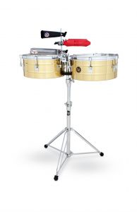 Latin Percussion LP257-B Timbals Tito Puente Solid Brass