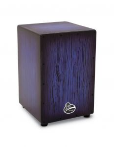Latin Percussion LPA1332-BBS Cajon Aspire Accents Blueburst Streak
