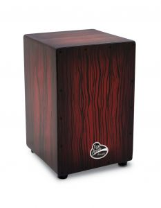 Latin Percussion LPA1332-DWS Cajon Aspire Accents Dark Wood Streak