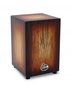 Latin Percussion LPA1332-SBS Cajon Aspire Accents Sunburst Streak