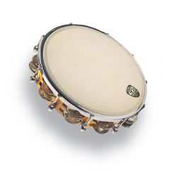 Latin Percussion CP391 Tambourine CP  tunable 10'', tunable, wood