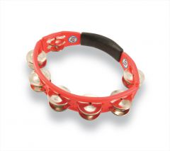 Latin Percussion LP151 Tambourine Cyclop hand held Red