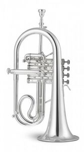 STOMVI 5938 Bb Titán Four Valve Copper Silver Plated Flugelhorn