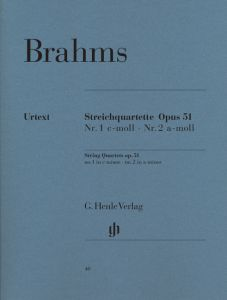 String Quartets in c minor and a minor op. 51