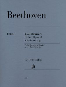 Concerto D major op. 61 for Violin and Orchestra