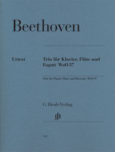Flute Trio G major WoO 37 for Piano, Flute and Bassoon