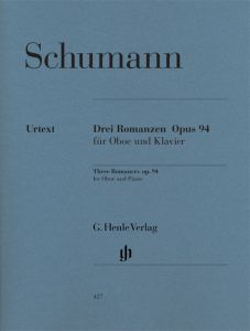 Romances for Oboe (or Violin or Clarinet) and Piano op. 94