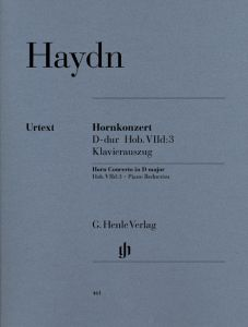 Concerto for Horn and Orchestra D major Hob. VIId:3