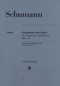 Woman's Love and Life(Frauenliebe und Leben) for Voice and Piano op. 42