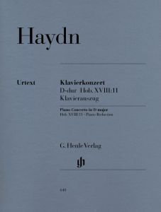 Concerto for Piano (Harpsichord) and Orchestra D major Hob. XVIII:11