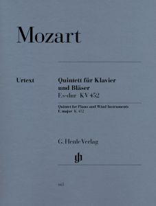 Quintet E flat major K. 452 for Piano, Oboe, Clarinet, Horn and Bassoon