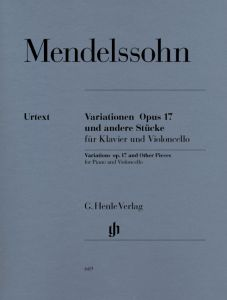 Variations op. 17 and Other Pieces for Piano and Violoncello