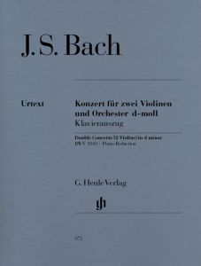 Concerto for 2 Violins and Orchestra d minor BWV 1043