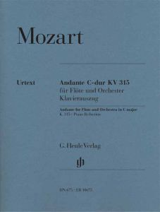 Andante for Flute and Orchestra C major K. 315