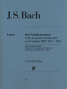Sonatas for Viola da Gamba and Harpsichord BWV 1027-1029 (Version for Viola da Gamba or Violoncello)