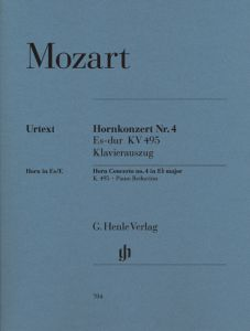 Concerto for Horn and Orchestra No. 4 Eb major K. 495