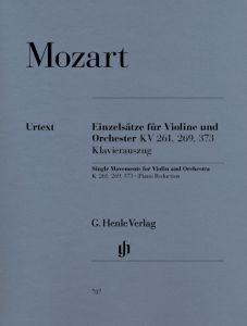 Single Movements for Violin and Orchestra K. 261, 269 and 373