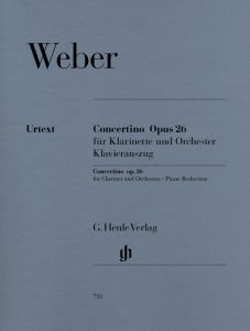 Concertino op. 26 for Clarinet and Orchestra
