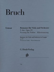 Romance for Viola and Orchestra F major op. 85