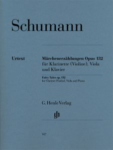 Fairy Tales op. 132 for Clarinet in Bb (Violin), Viola and Piano