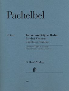 Canon and Gigue in D major for three Violins and Basso continuo