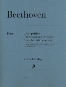 """""""Ah! perfido"""" op. 65 for Soprano and Orchestra"""