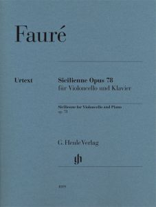 Sicilienne for Violoncello and Piano op. 78