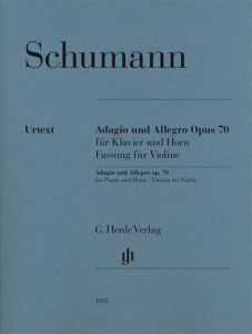 Adagio and Allegro op. 70 for Piano and Horn
