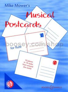 M. Mower MUSICAL POSTCARDS FOR FLUTE