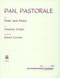 DONJON Johannes PAN (Pastorale) Flute and Piano
