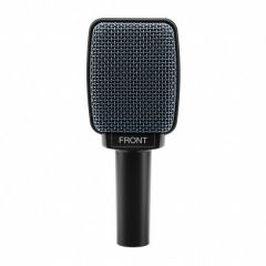 SENNHEISER e 906 Instrument microphone, dynamic, supercardioid, 3-pin XLR-M, 3 x sound switch, anthracite, includes bag