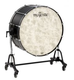MAJESTIC 310-MCB2816 Bass Drum Concert Black Series