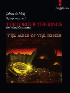 NOTE: de Meij, J. - SYMPHONY NO. 1 'THE LORD OF THE RINGS', velika partitura