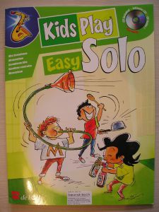 KIDS PLAY EASY SOLO + CD for alto sax
