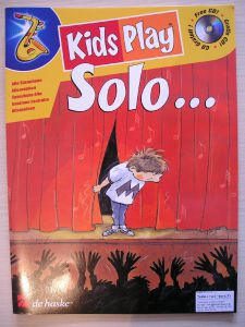 KIDS PLAY SOLO ...for alto sax + CD