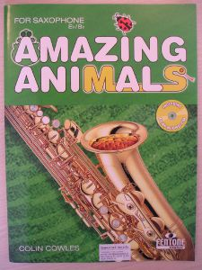 Cowels, C. - AMAZING ANIMALS+ CD for alto and tenor sax