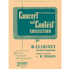 H VOXMAN Concert and Contest selection