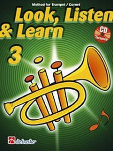 LOOK, LISTEN & LEARN 3 ZA TROBENTO + CD