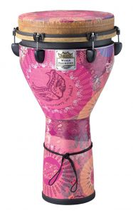 Remo Djembe Warriors in Pink 0