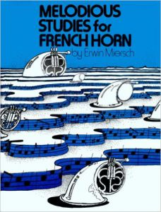MIRSCH Melodious Studies for FRENCH HORN